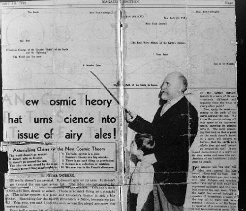 A 1932 newspaper clipping